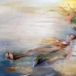 10-Levedad en el agua-oleo sobre tela-110 x 0,90m