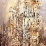 4-Paisaje de ciudad-oleo sobre tela 0,60 x 0,80 m.