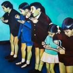 pinturas profesora eva agasa