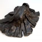 serie de las telas- chapa batida precio €380 20x 20 cm peso 500 gr.